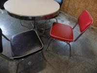 Retro table and 4 chairs